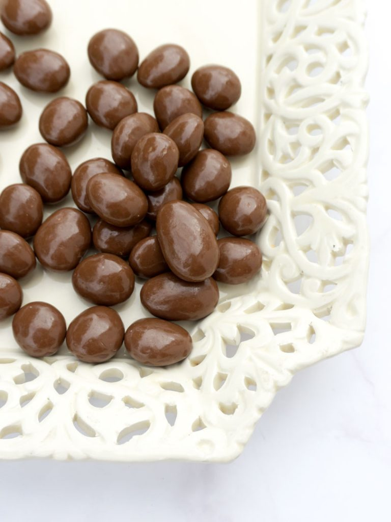Peladillas de chocolate con leche